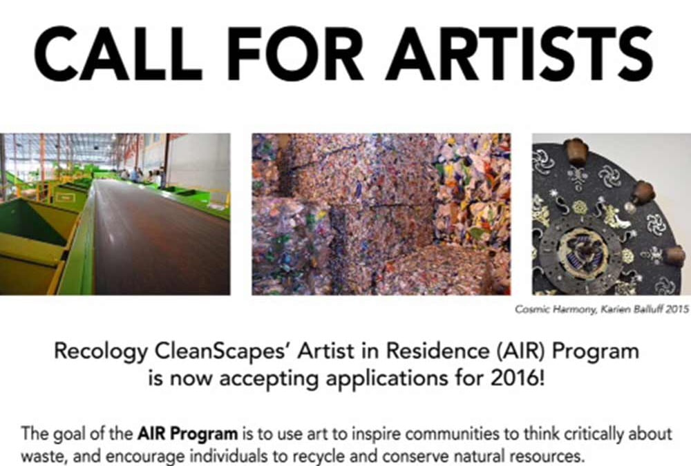 Recology – Call for artists