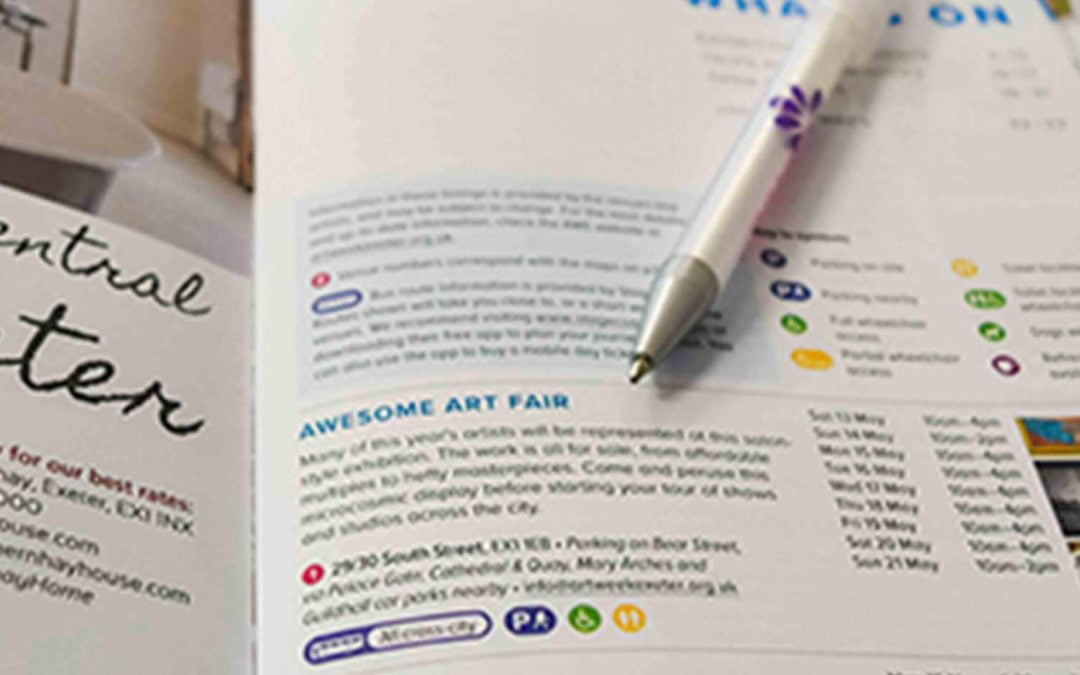 Art Week Exeter registration