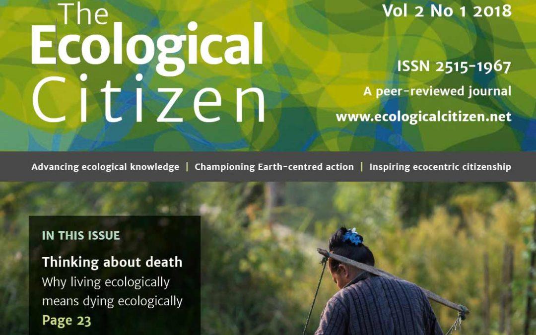 The Ecological Citizen 2:1