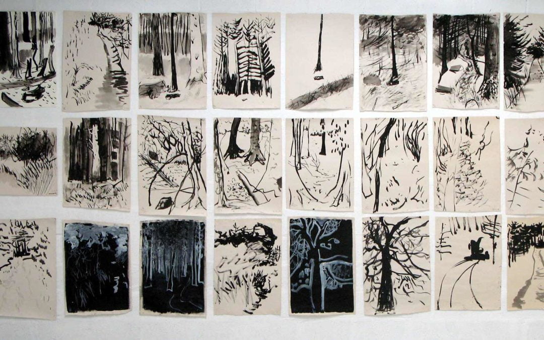 Exhibition:  Evolving the Forest